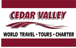 About Cedar Valley World Travel logo